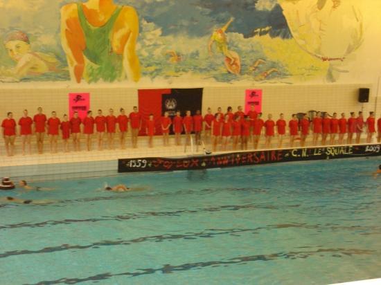 Gala de nage synchronisée du 7 novembre 2009